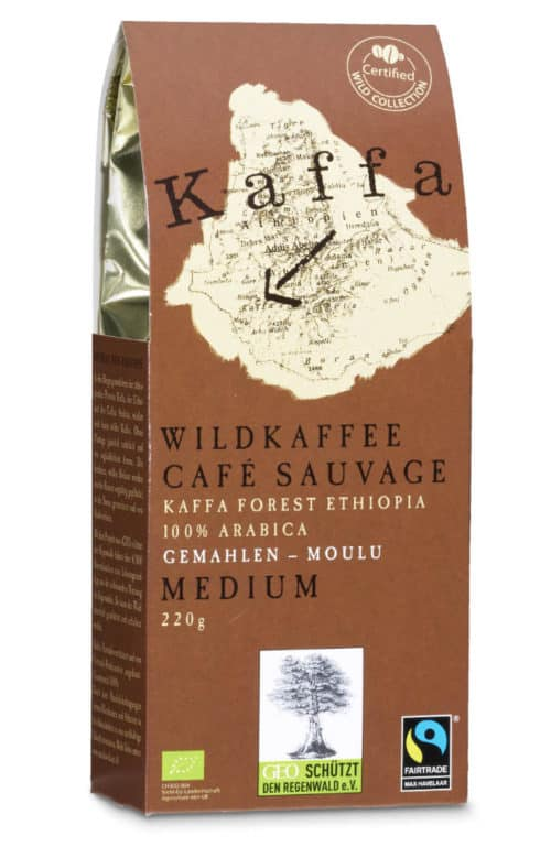 Kaffa Medium gemahlen 220g Bio/FT