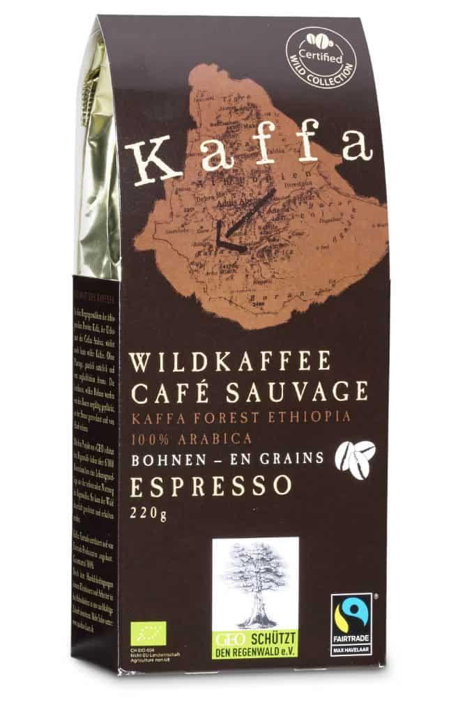 Kaffa Espresso Bohnen 220g Bio/FT