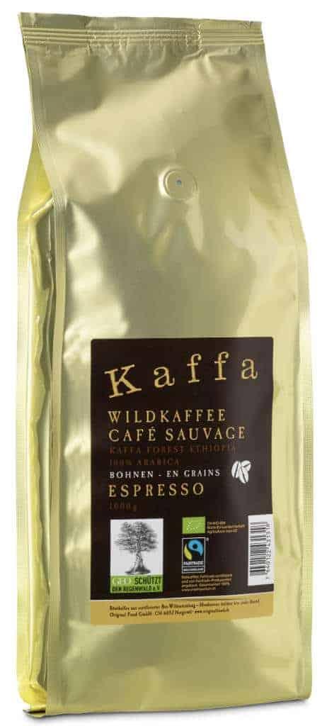 Kaffa Espresso Bohnen 1kg Bio/FT