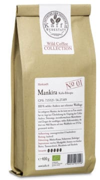 Wild Coffee Collection No. 1 Mankira bio