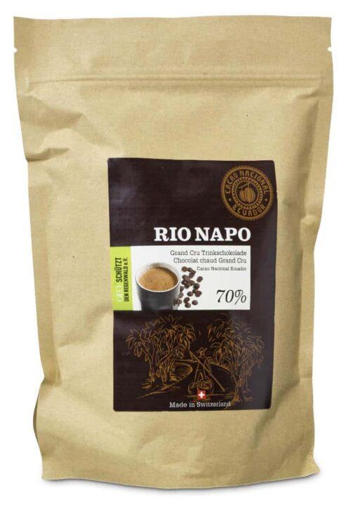 Rio Napo Grand Cru Trinkschokolade 70% 900g Bio