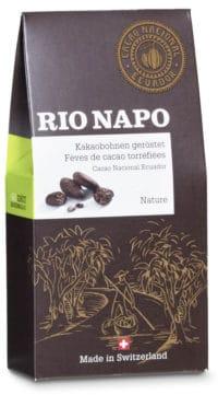 Rio Napo Fèves de cacao torréfiée bio