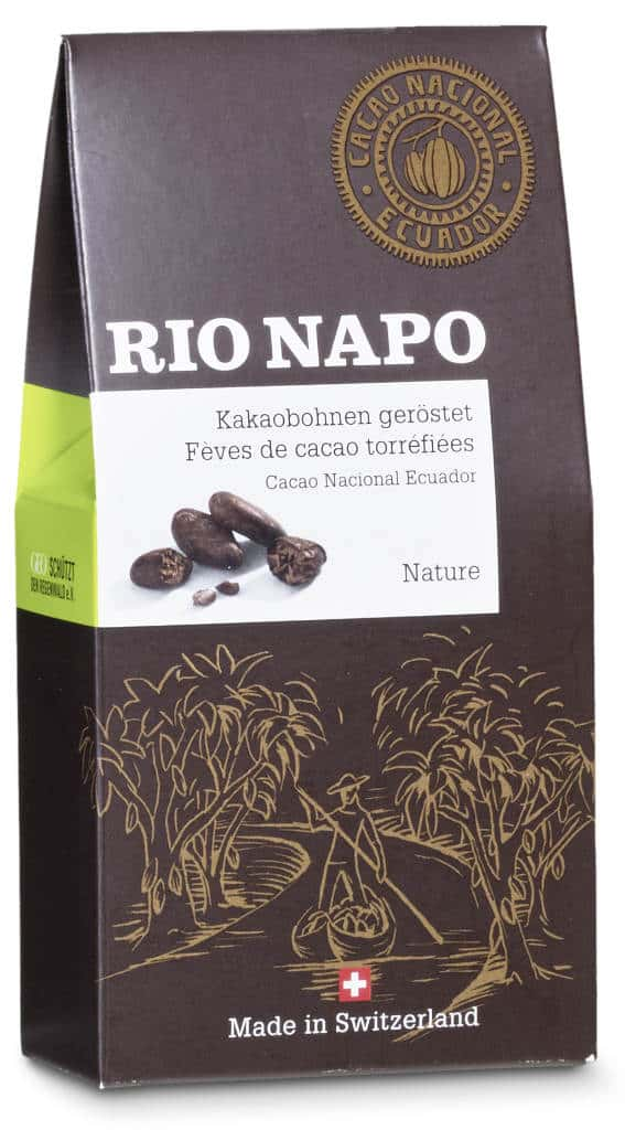 Rio Napo Kakaobohnen geröstet nature Bio
