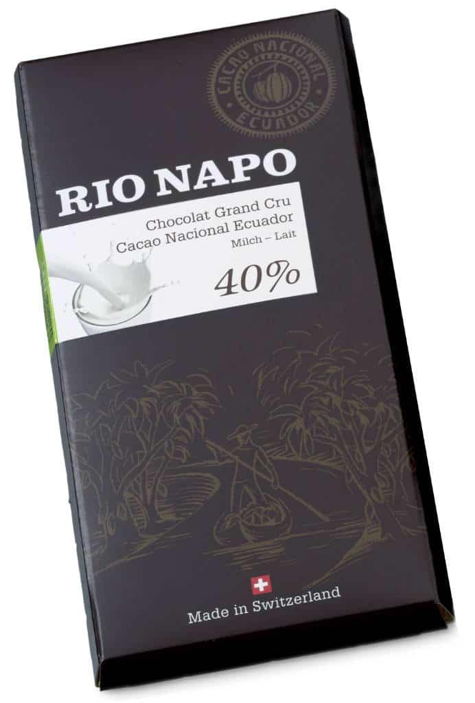 Rio Napo Grand Cru 40% pur 70g Bio