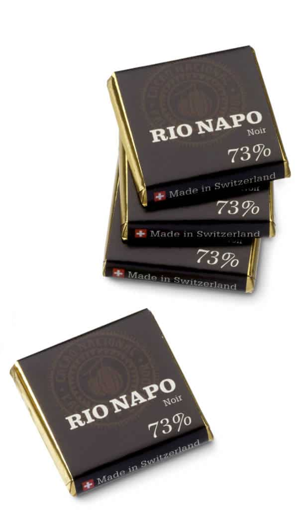 Rio Napo Napolitaines 73% pur 6g Bio