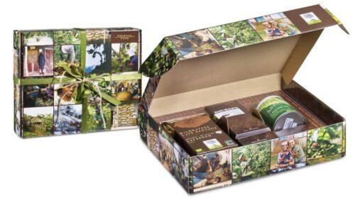 Geschenkkarton mit Trinkschokolade – Adventsaktion