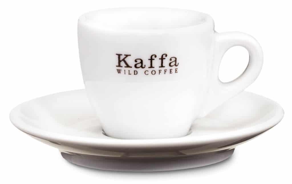 Kaffa Espresso Tasse 40ml mit Unterteller