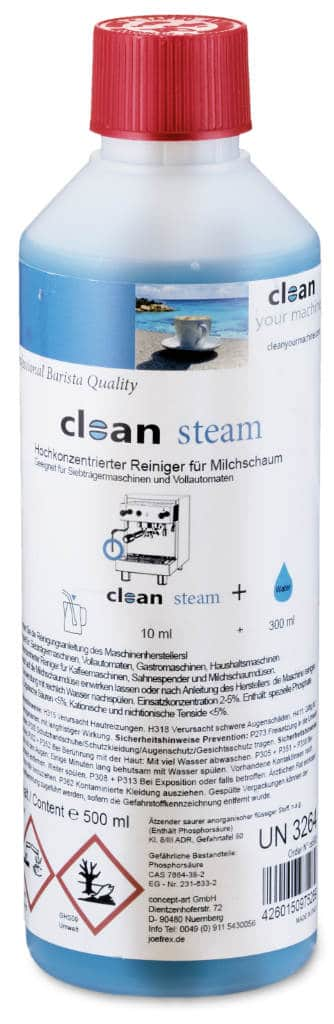 Clean Steam Milchreiniger Konzentrat