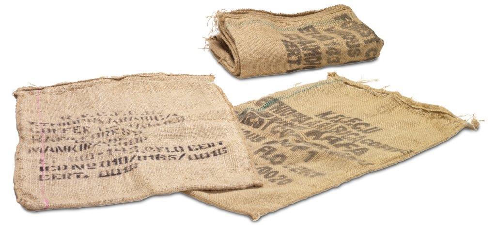 Kaffa Wildkaffee Original-Jutesäcke