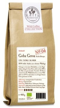Wild Coffee Collection No. 4 Goba Gessa Bio