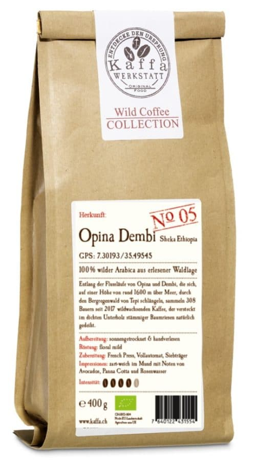 Wild Coffee Collection No. 5 Opina Dembi Bio