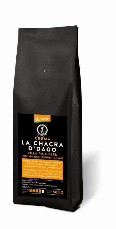 La Chacra d'Dago Crema Grains 500g certifié Demeter