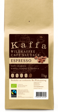 Kaffa Espresso grains 1kg bio/FT